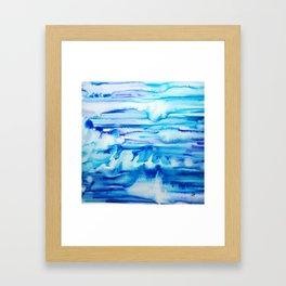 Forever in Blue Jeans Framed Art Print