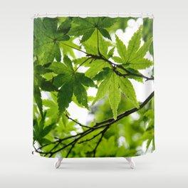 Kyoto Maple Shower Curtain