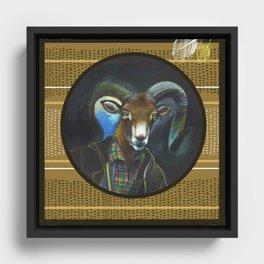 Aries Framed Canvas
