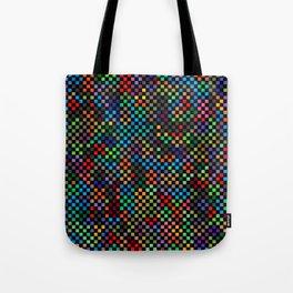 Squares Illusion Tote Bag