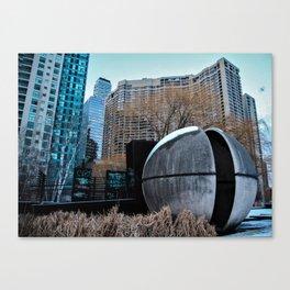 urban takeover Canvas Print