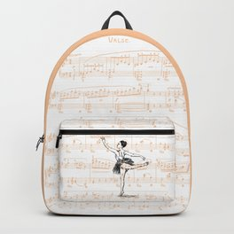 Ballerina print Backpack