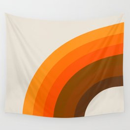 Golden Bow Wall Tapestry