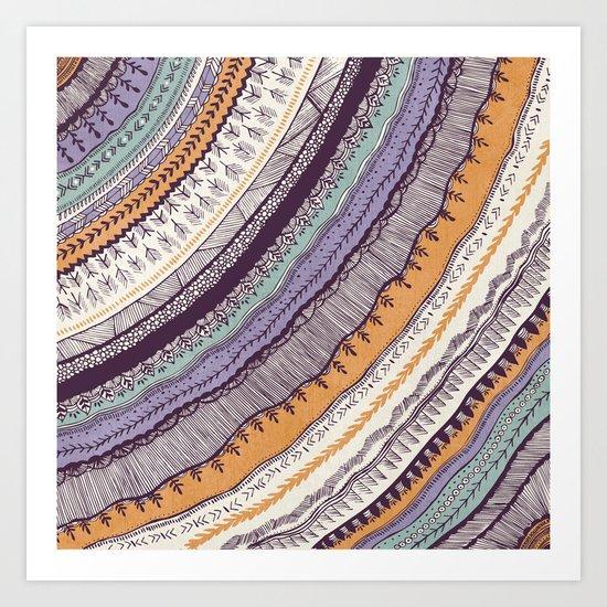 Colorful Fall Art Print