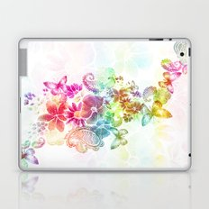 paisley flutter Laptop & iPad Skin