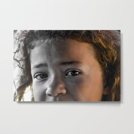 Love is... Responsibility Metal Print