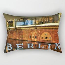 NIGHTTRAIN - RIVERSIDE - BERLIN Rectangular Pillow