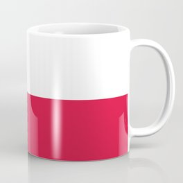 flag of poland Coffee Mug