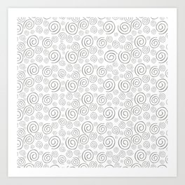 """Swirls/Rulitos"" Art Print"