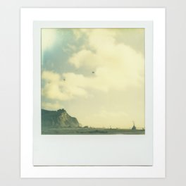 """""""There are few troubles not set to ease by breaking waves and salty air."""" Art Print"""