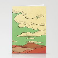 desert Stationery Cards featuring Desert by The Bad Artist