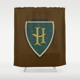 H is for Helga Shower Curtain
