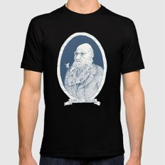 By Darwin's Beard Black Mens Fitted Tee MEDIUM