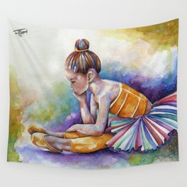 Gloomy Little Dancer by J.Namerow Wall Tapestry