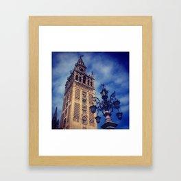 Giralda Framed Art Print