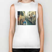 venice Biker Tanks featuring Venice by Mr and Mrs Quirynen