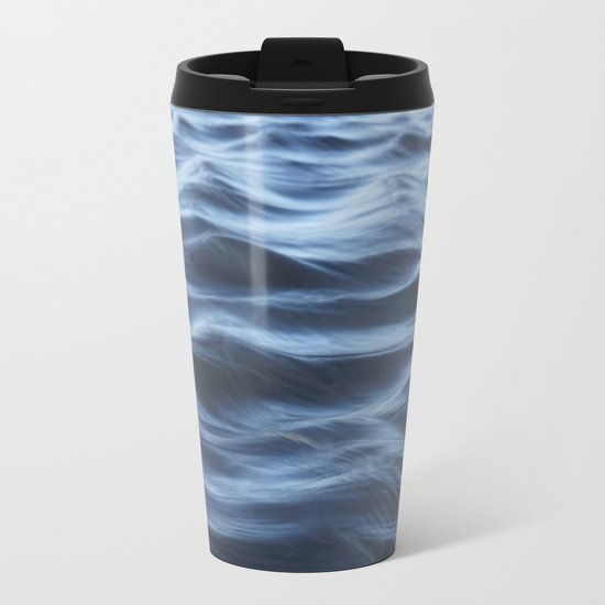 Ripples Metal Travel Mug