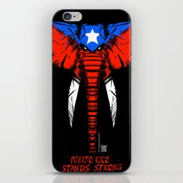 PR Stands Strong iPhone Skin