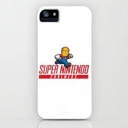 Super Nintendo Chalmers iPhone Case