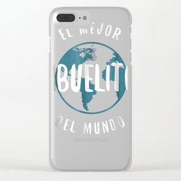 El Mejor Abuelito Del Mundo T-Shirt Love Grandpa Proud Clear iPhone Case