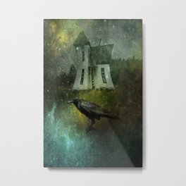 Crow House Metal Print