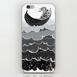 Death At Sea iPhone Skin