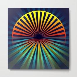 Sunset abstract 194 Metal Print