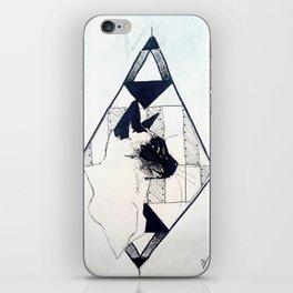Cat Triangle iPhone Skin