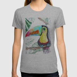 Rainbow Toucan T-shirt