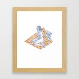The Sleepless Maiden Framed Art Print