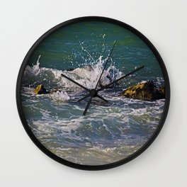 All Mixed Up Wall Clock