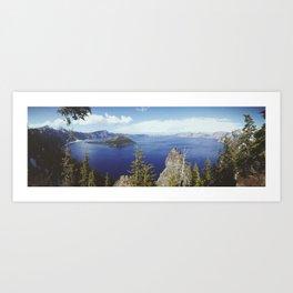 Crater Lake, Oregon Art Print