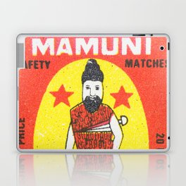 Old Matchbox label #11 Laptop & iPad Skin