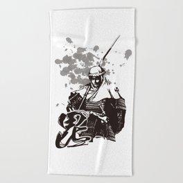 KENSHIN UESUGI Beach Towel