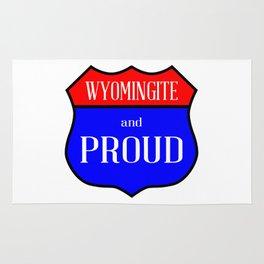 Wyomingite And Proud Rug