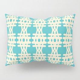 Doodle Woven Pattern Pillow Sham