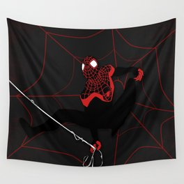 Ultimate Spider-man Miles Morales Wall Tapestry