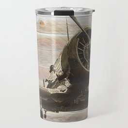 Old airplane 2 Travel Mug