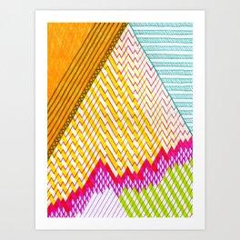 Isometric Harlequin #6 Art Print