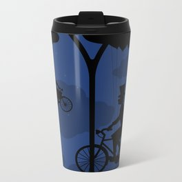 Let's go fly a bike Metal Travel Mug