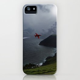 Red Arrows Air Display iPhone Case