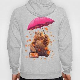 autumn bear Hoody