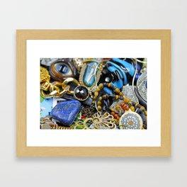 Jewelry Cluster 2 Framed Art Print