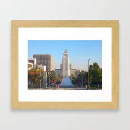 Los Angeles City Hall Framed Art Print