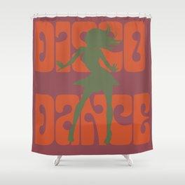 Disco dance Shower Curtain