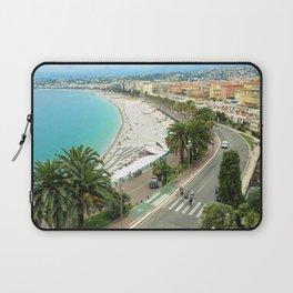 Promenade des Anglais, Nice, France Laptop Sleeve