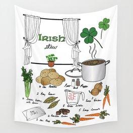 Irish Stew Wall Tapestry