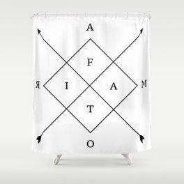 Amor Fati Shower Curtain