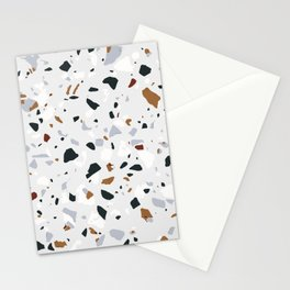 Millennials terrazzo Stationery Cards