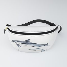 Striped dolphin Fanny Pack